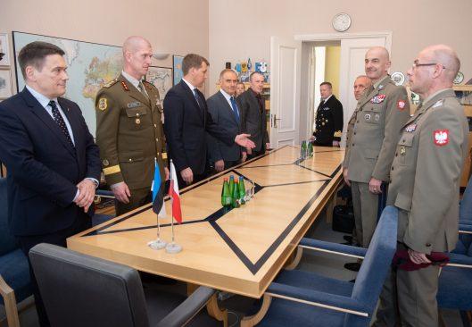 Riigikaitsekomisjon kohtus Poola Kaitseväe juhatajaga