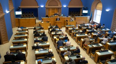 The Riigikogu supported depriving Kalev Kallo of deputy immunity. Photo: Erik Peinar