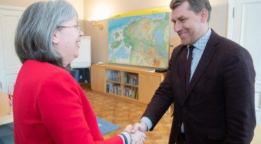 Kohtumine Ühendkuningriigi suursaadikuga