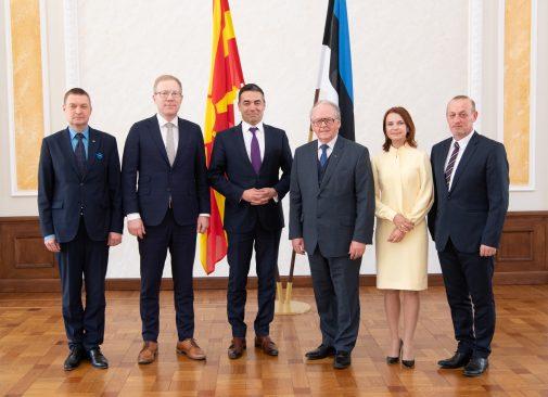 Väliskomisjon kohtus Põhja-Makedoonia Vabariigi välisministri Nikola Dimitroviga