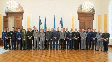 Kohtumine Portugali kindralstaabi kursusel osalevate ohvitseridega