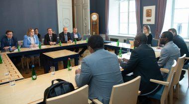 Rahanduskomisjoni ja IMFi delegatsiooni kohtumin