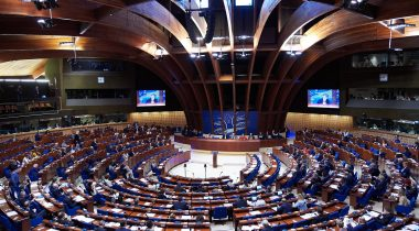 Members of the Riigikogu discuss the problem of Russia at PACE Plenary Session. Photo: PACE