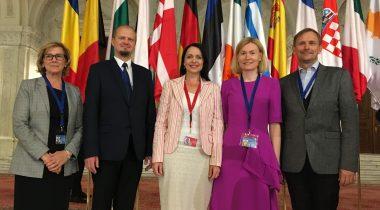 ELAKi delegatsioon Rumeenias COSACil