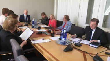 Комиссия по социальным делам: возвращающиеся на родину соотечественники должны знать, что им здесь рады. Foto: Riigikogu Kantselei