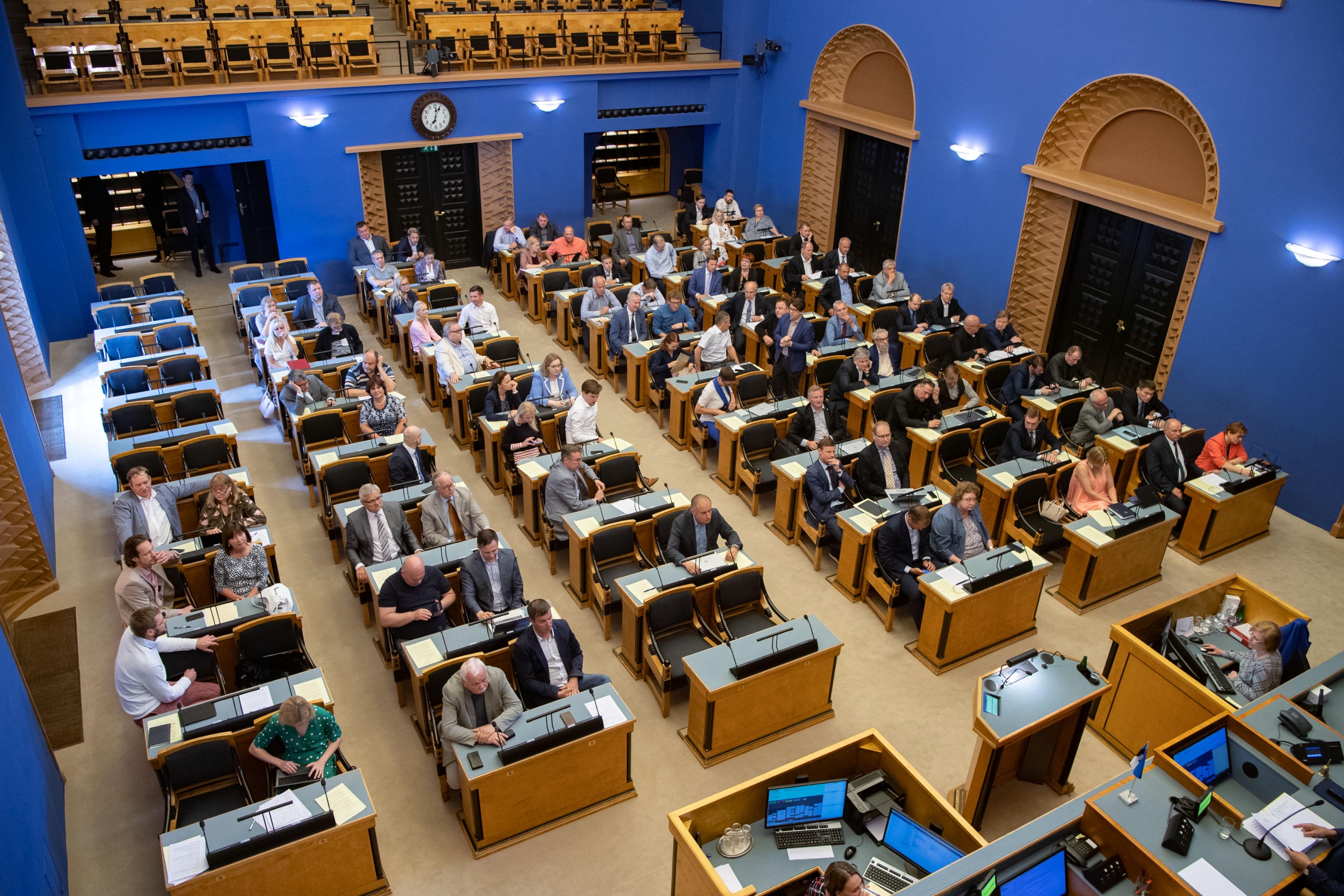 Riigikogus läbis esimese lugemise kodakondsuse seaduse muutmise eelnõu
