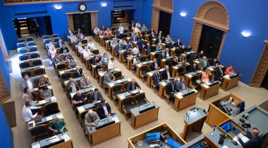 The Riigikogu passed the Act lowering alcohol excise duty rates. Photo: Erik Peinar
