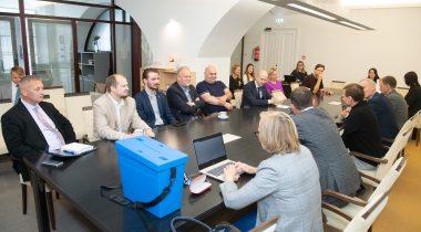 Комиссия по делам Европейского союза выбрала Рийну Сиккут в качестве нового заместителя председателя. Foto: Erik Peinar