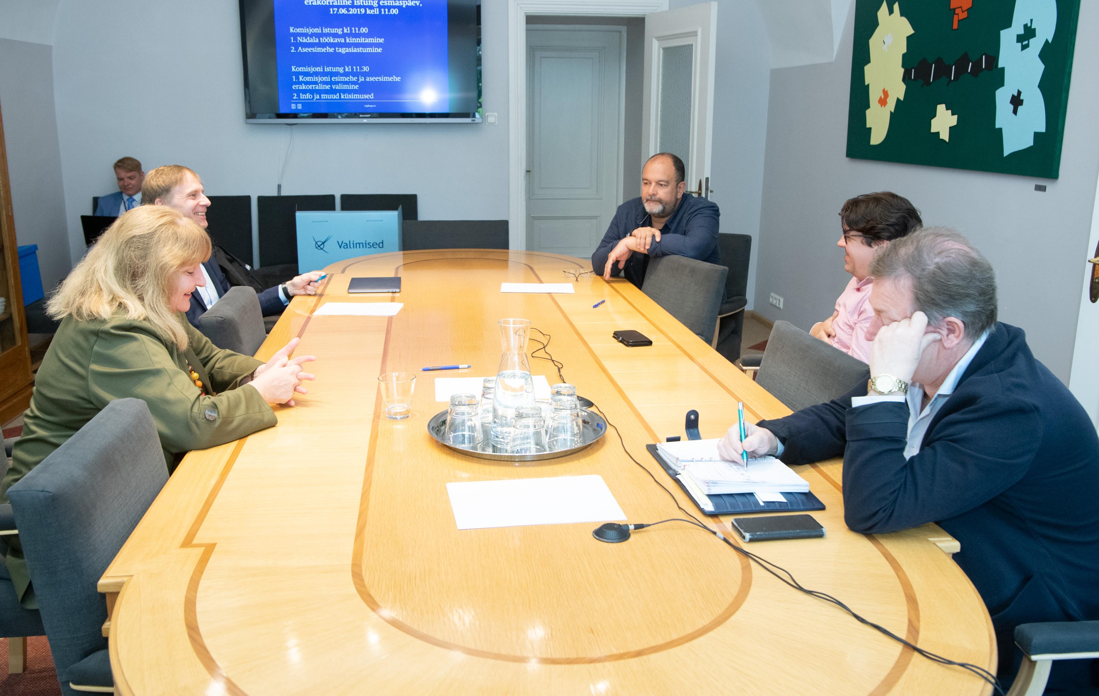 Eesti keele õppe arengu probleemkomisjoni juhib Stalnuhhin