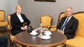 Спикер Рийгикогу и президент Хорватии подчеркнули важность общих ценностей