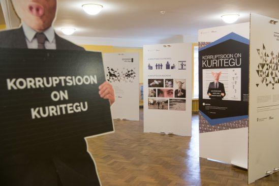 Korruptsiooniennetuse näitus