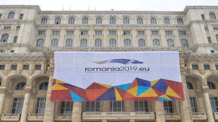 Euroopa Liidu eesistuja Rumeenia parlamendihoone. Foto allikas: www.cdep.ro