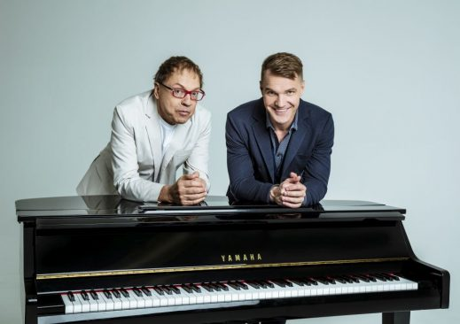 Ott Lepland ja Rein Rannap. Foto Maris Savik