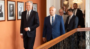 Põlluaas and Nausėda: Cooperation ensures the success of the Baltic States
