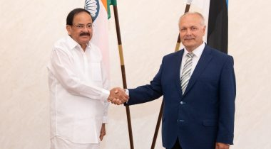President of the Riigikogu and Vice-President of India discussed closer cooperation