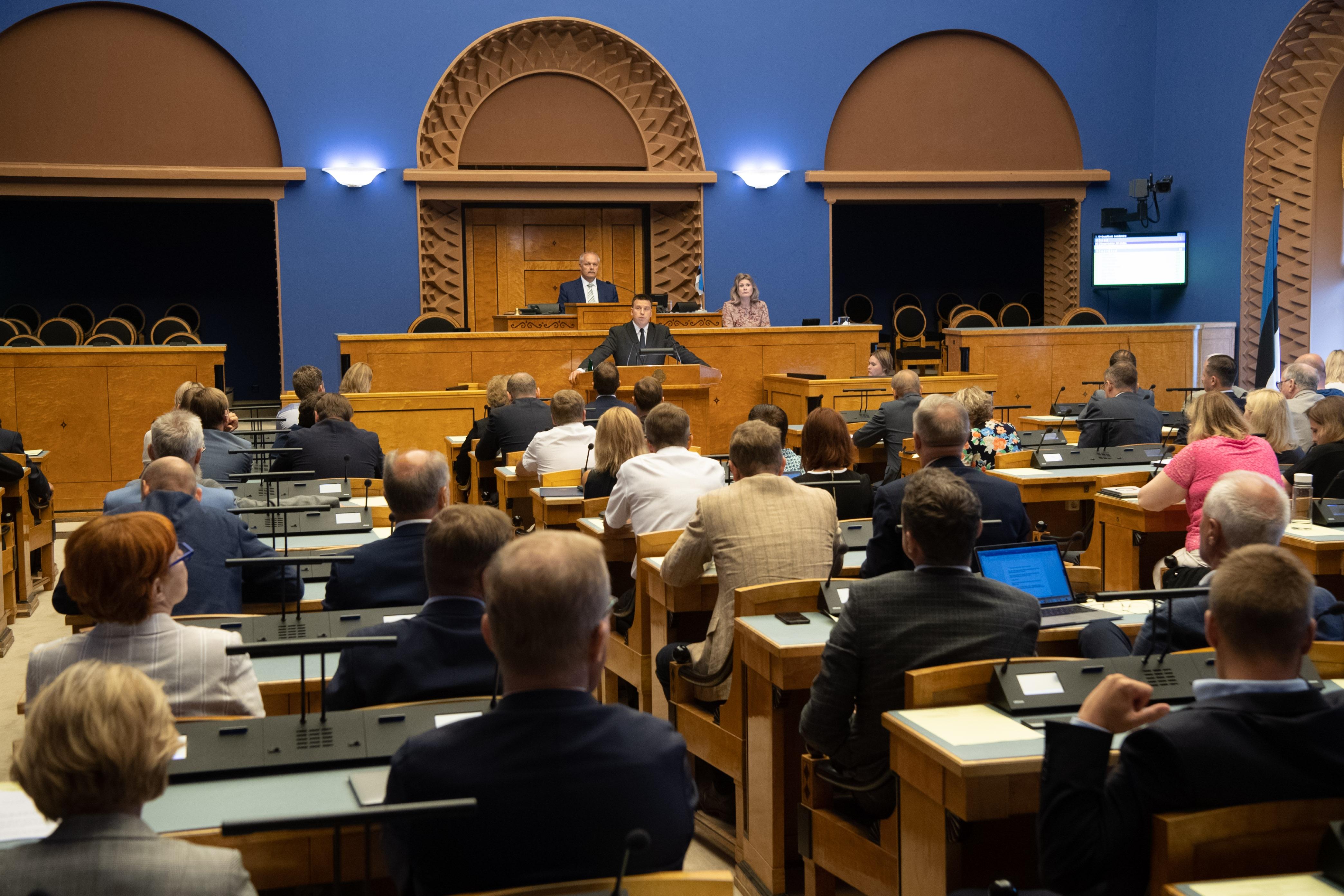 Peaminister Jüri Ratase umbusaldamine ei leidnud toetust