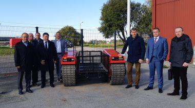 Riigikaitsekomisjon külastas kaitsetööstusettevõtet Milrem AS