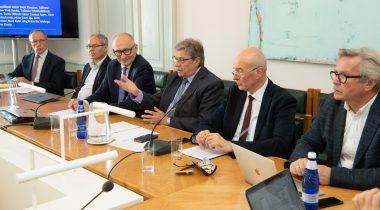 Kultuurikomisjon kohtus kõrgkoolide juhtidega