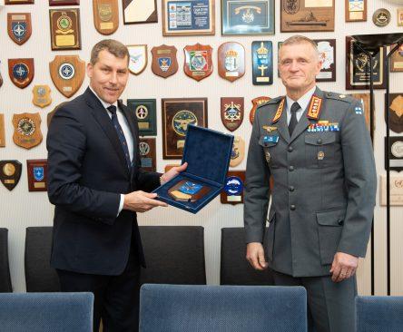 Kohtumine Soome Kaitseväe juhatajaga