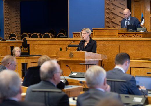 Riigikogu sai ülevaate õiguskantsleri viimase aasta tegevusest
