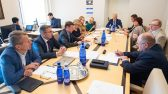 Eesti Panga Nõukogu esimees Mart Laar rahanduskomisjonis