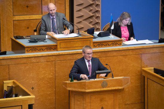 Riigihalduse minister Jaak Aab. Foto: Erik Peinar / Riigikogu Kantselei