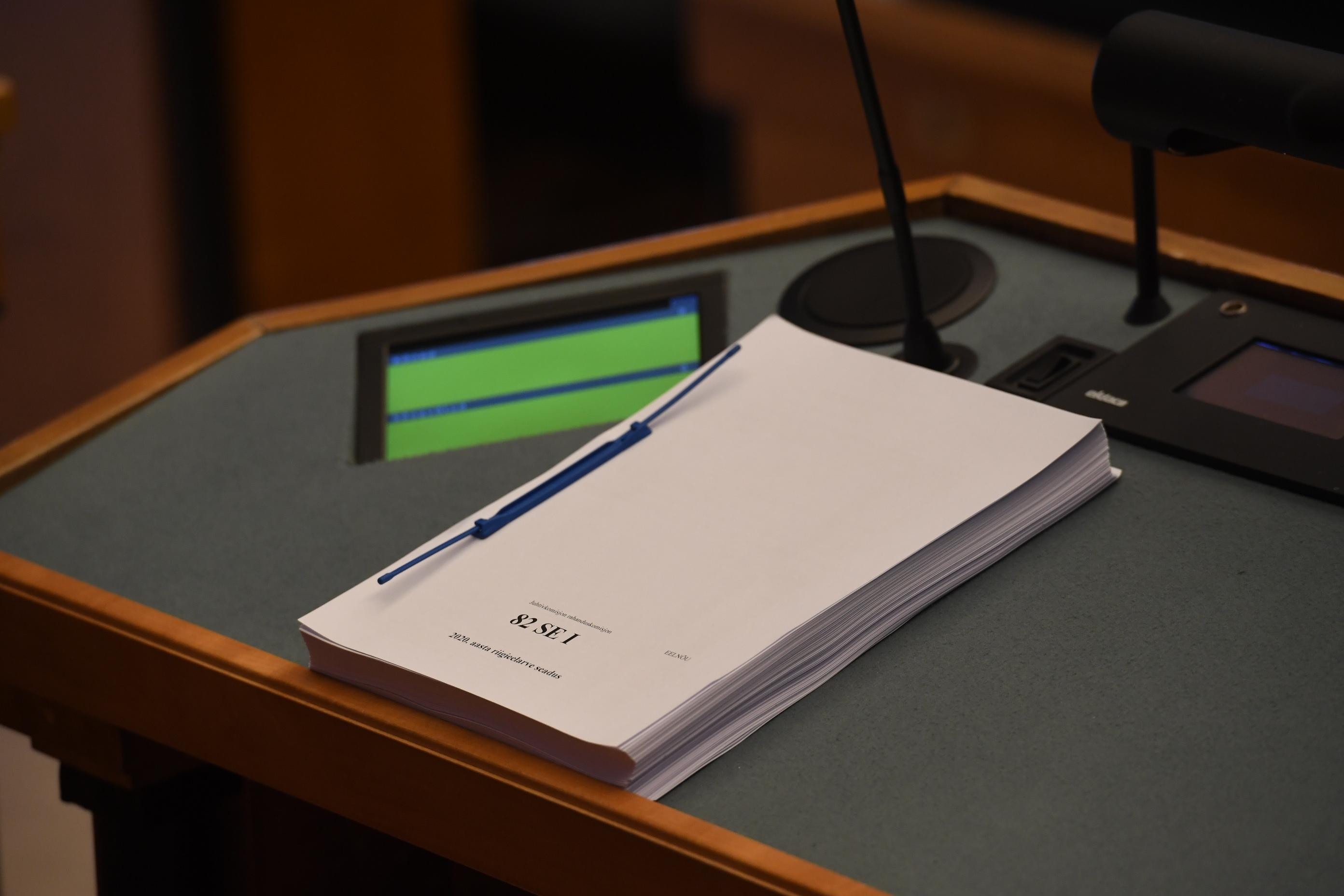 Rahanduskomisjon alustas tuleva aasta riigieelarve menetlemist