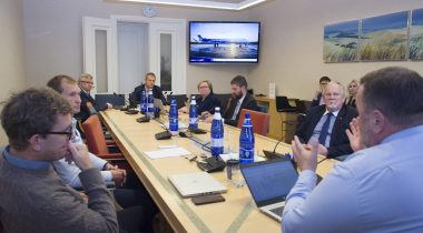 The Economic Affairs Committee was given an overview of the situation in Nordica. Photo: Riigikogu Kantselei