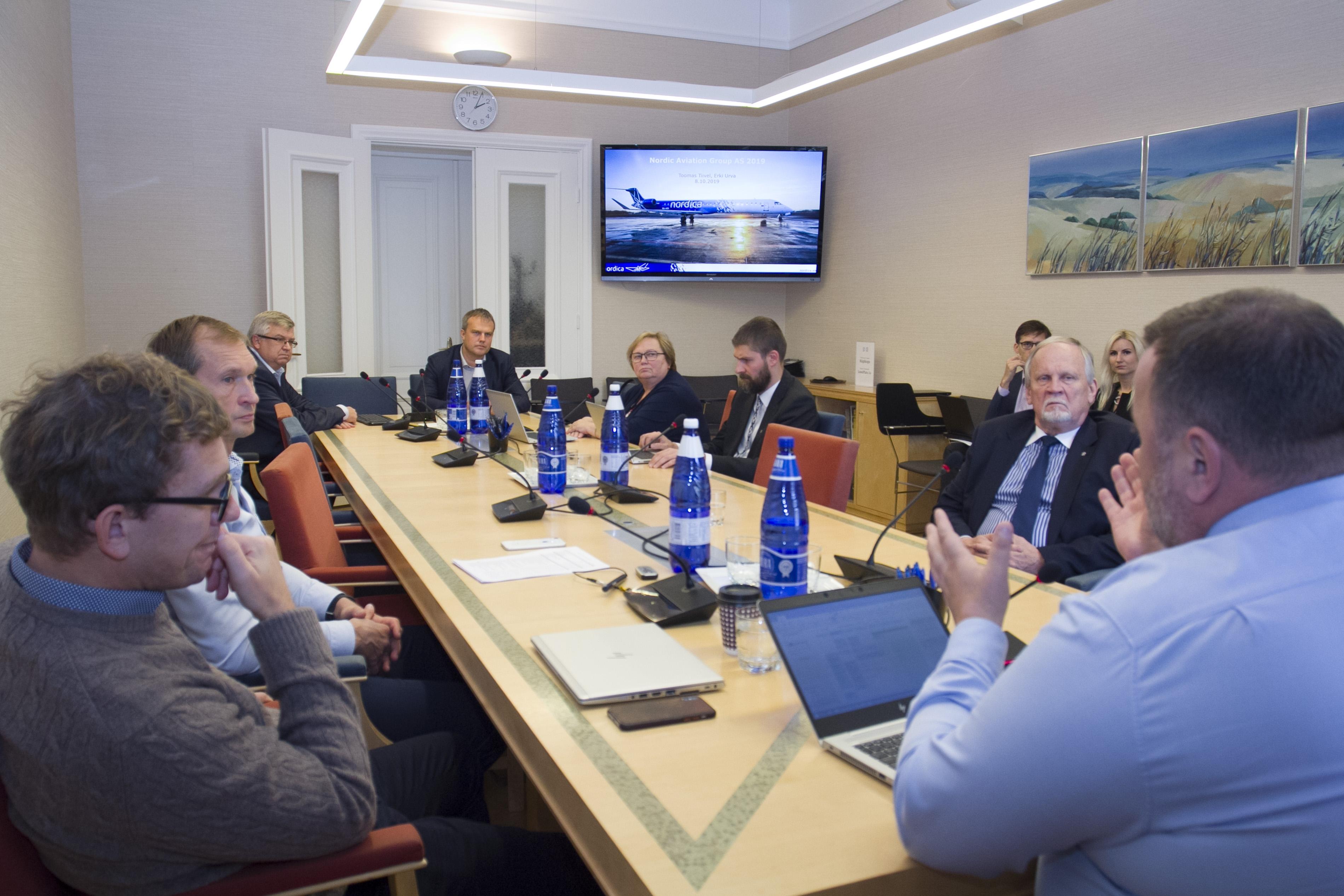 Majanduskomisjon sai ülevaate Nordica olukorrast