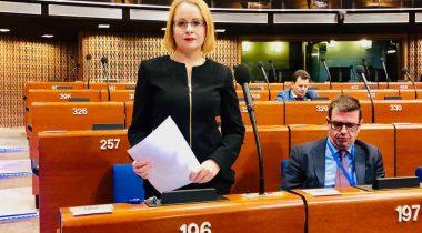 Maria Jufereva-Skuratovski. Foto: Riigikogu Kantselei