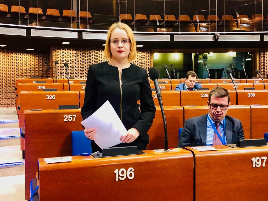 Jufereva-Skuratovski tutvustas ENPA täiskogule tööpagulaste raportit