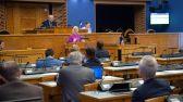 Riigikogu arutas olulise tähtsusega riikliku küsimusena pensioniteemat. Foto: Erik Peinar