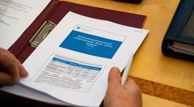Sotsiaalministeeriumi valitsemisala eelarve tutvustus. Foto: Erik Peinar
