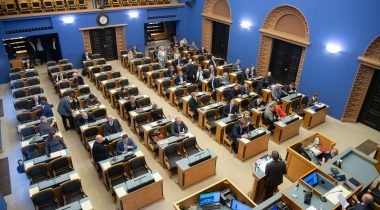 The Riigikogu passed an Act concerning the reduction of greenhouse gases. Photo: Erik Peinar