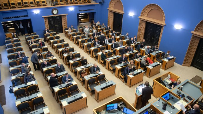 Bill facilitating the curbing of the generation of greenhouse gases passed the second reading in the Riigikogu. Photo: Erik Peinar