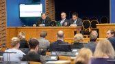 Justiitsminister Raivo Aeg, kultuuriminister Tõnis Lukas ja peaminister Jüri Ratas Riigikogu infotunnis