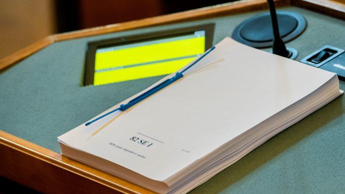 Valitsuse algatatud 2020. aasta riigieelarve seaduse eelnõu