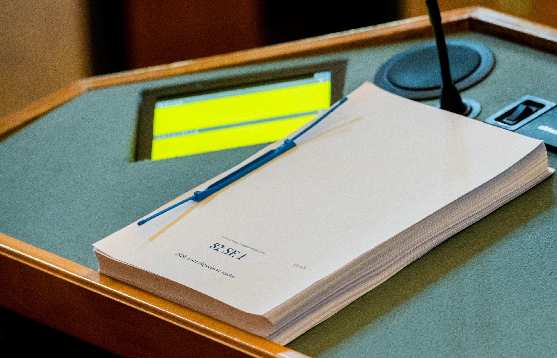 Riigikogu kiitis heaks järgmise aasta riigieelarve