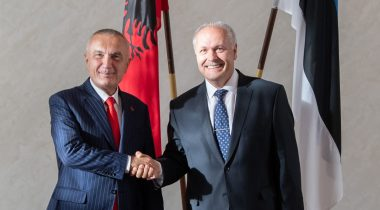 Põlluaas assured the President of Albania of Estonia's support to Albania's EU prospects