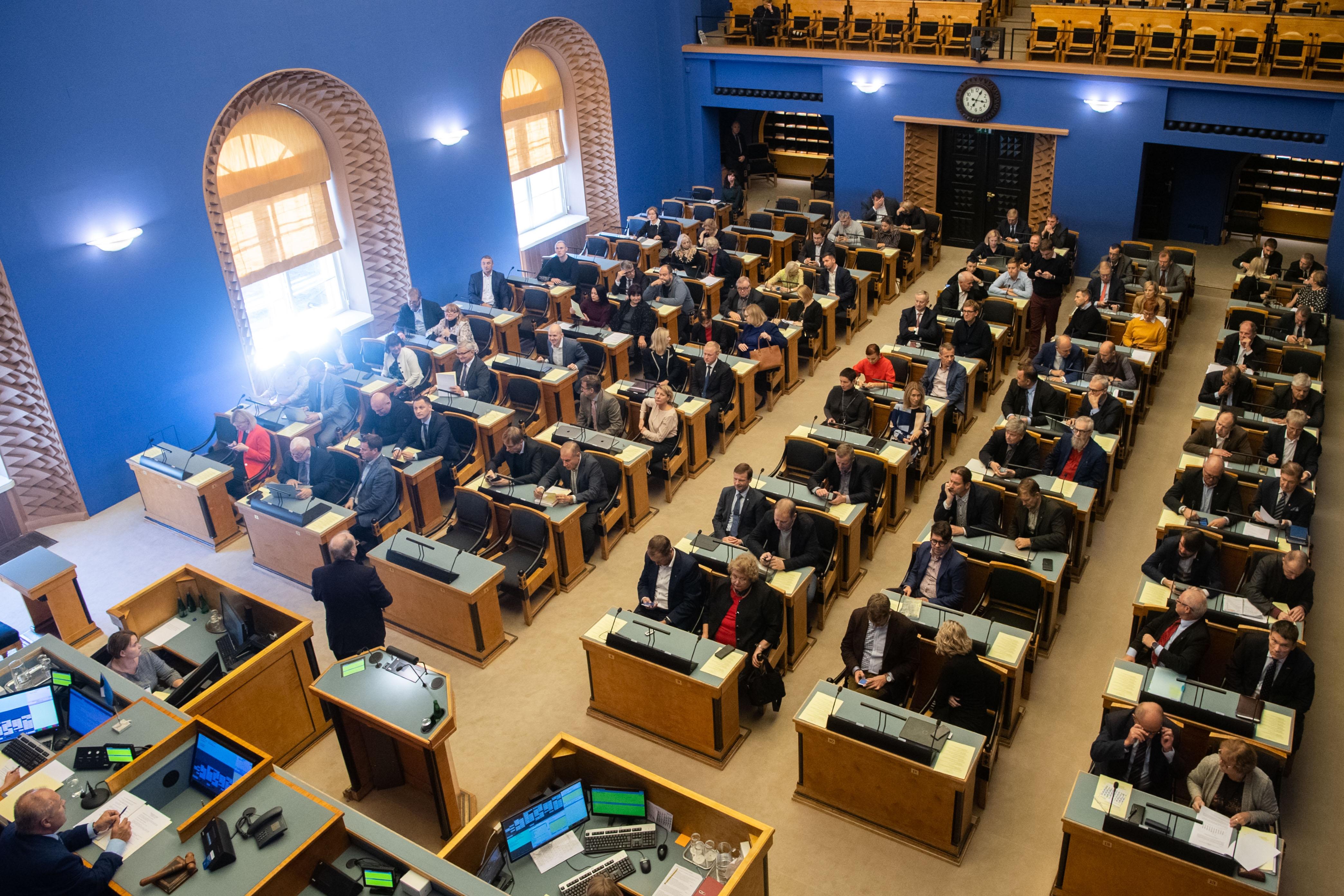 Riigikogu arutas teadus- ja arendustegevuse rahastamist