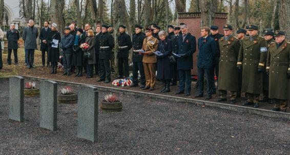 Riigikaitsekomisjon osaleb I maailmasõja lõppu tähistaval mälestusüritusel