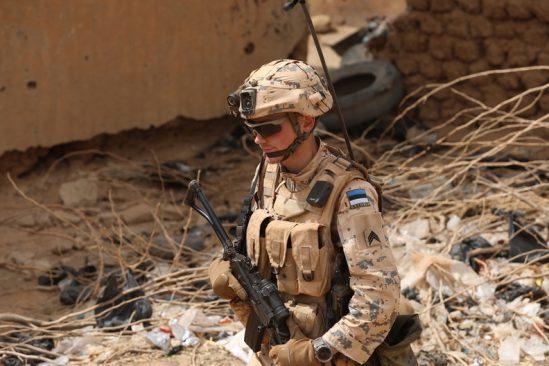 Malis operatsioonil Barkhane teeniv jalaväerühm Estpla-32 Foto: Kaitsevägi, kapten Taavi Karotamm