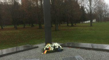 Osalemine Saksa rahva leinapäeval. Foto: Aivar Engel