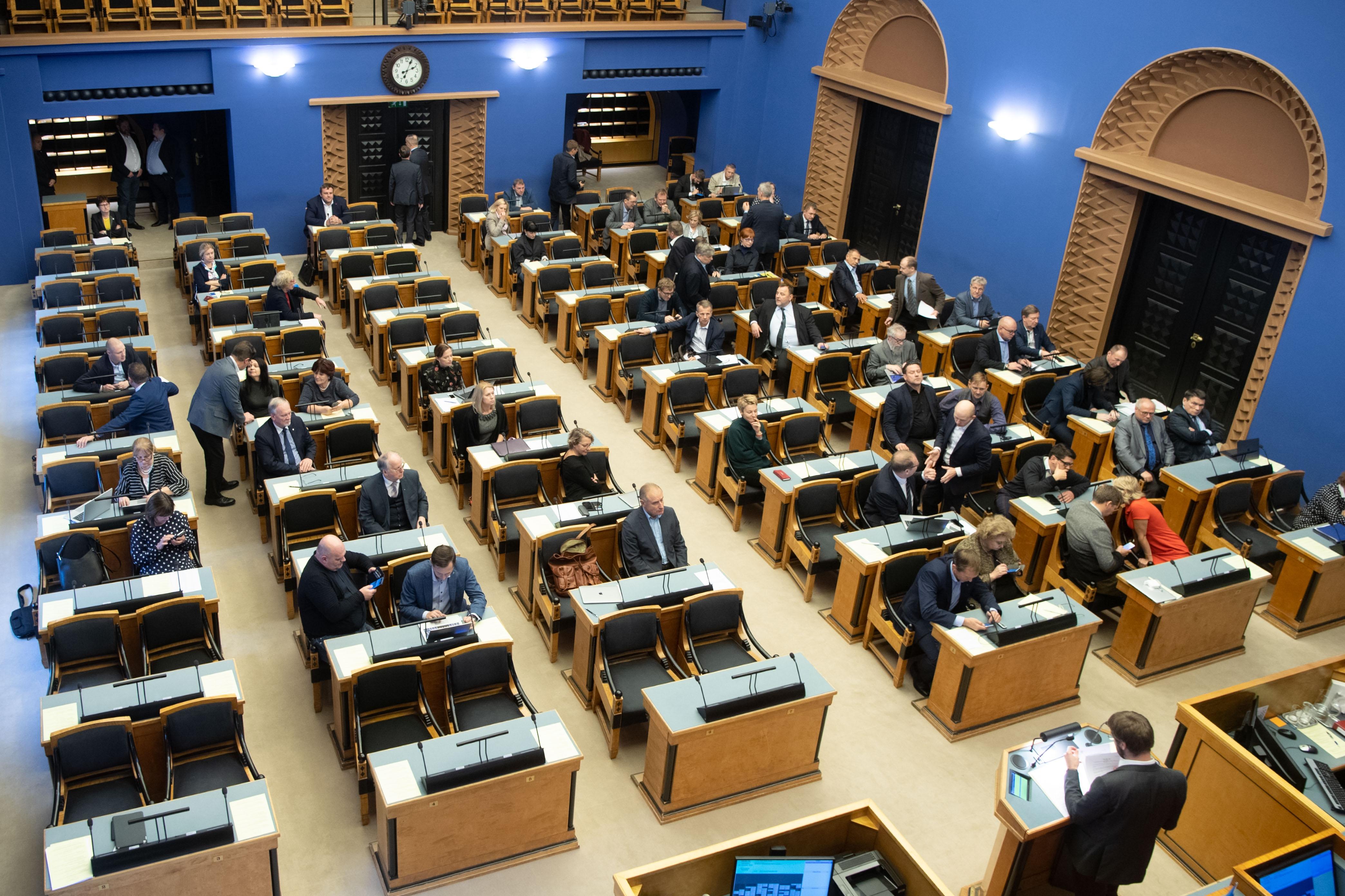 Riigikogu võttis vastu kaks seadust