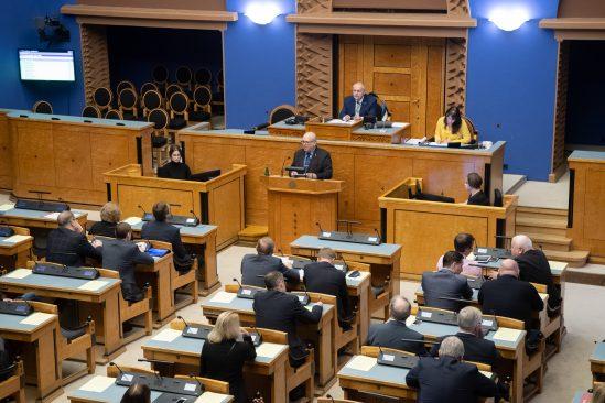 Maaeluminister Mart Järvik vastab Riigikogu liikmete küsimustele