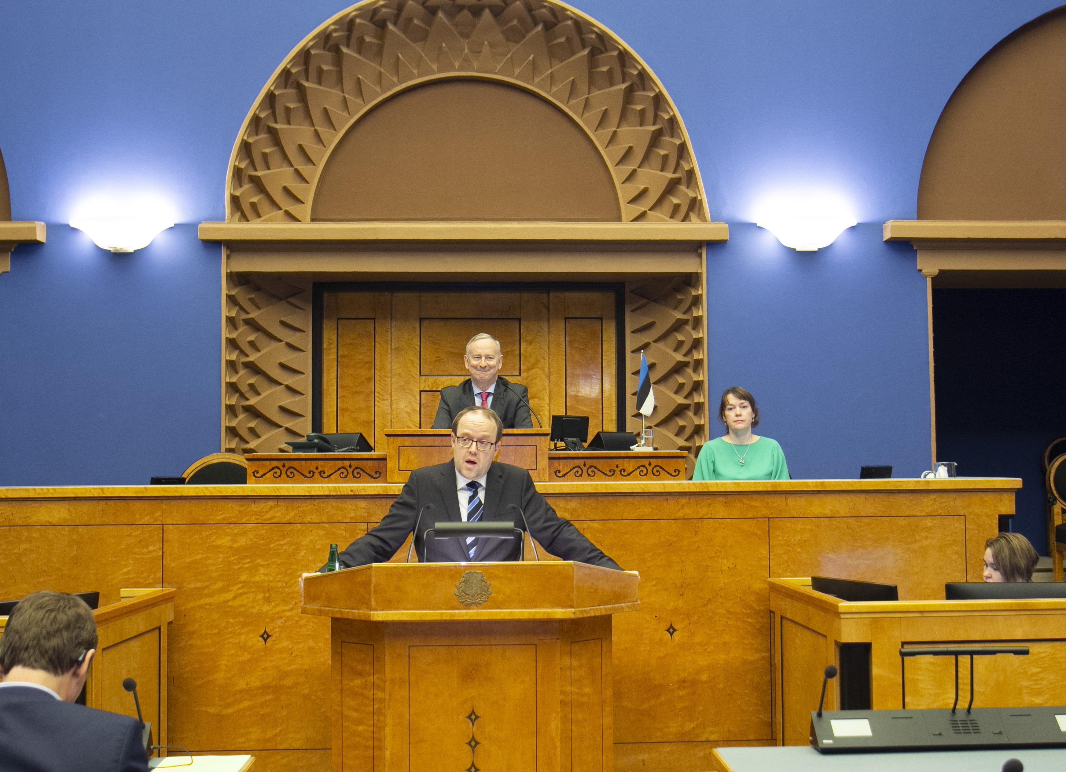 Riigikogu nimetas Juhan Sarve riigikohtunikuks