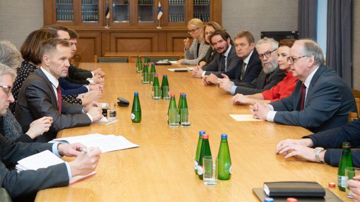 Väliskomisjoni kohtumine Eduskunta väliskomisjoniga