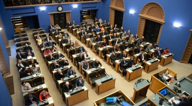The Riigikogu voted the amendment of the Medicinal Products Act out of the legislative proceedings. Photo: Erik Peinar