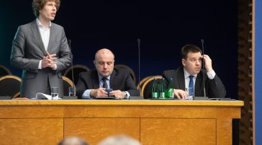 Sotsiaalminister Tanel Kiik Riigikogu infotunnis