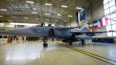 Ämari Lennubaas, õhuturbe operatsiooni üleandev Tšehhi õhuväe Gripen hävitaja. Foto Kaitsevägi